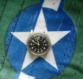 【送料無料】腕時計 ベンラスベトナムサービスvtg 1965 benrus vietnam era military wristwatch milw3818b dtu2ap serviced