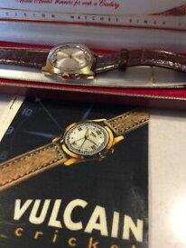 【送料無料】腕時計 ヴィンテージバルカンクリケットアラームウォッチインボックス