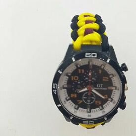 【送料無料】腕時計 ロイヤルフッサールパラコードウォッチparacord watch with the royal hussars regiment rhr colours a great gift