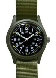 【送料無料】腕時計 オリーブドラブベトナムパターンmilitary industries 1960s70s olive drab vietnam war pattern military watch