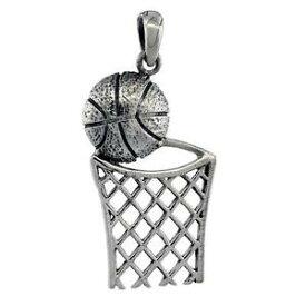 【送料無料】ジュエリー・アクセサリー シルバースターリングバスケットボールバスケットグランドペンダントブレロックイタリアargent sterling basketball amp; panier grand pendentif breloque,18 italien