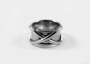 【送料無料】ジュエリー・アクセサリー ポリッシュステンレスタイムリングリングpolished stainless steel time ring goku ring