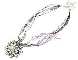 【送料無料】ジュエリー・アクセサリー ヴィンテージシルバーデコギャツビーパールファンタジースノーフレークネックレスstupefiant vintage argent deco gatsby perle fantaisie flocon de neige collier