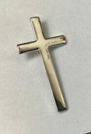 【送料無料】ジュエリー・アクセサリー シルバークロス×womensmens silver cross 35mm x 18mm peso 22g