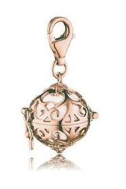 【送料無料】ジュエリー・アクセサリー エンゲルスルファーチャームシルバーピンクホワイトサイズengelsrufer charm argento 925 rosato sfera bianca misura xs erc01r