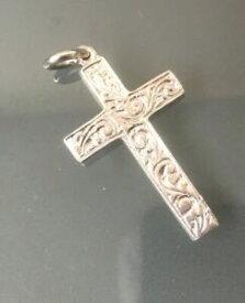 【送料無料】ジュエリー・アクセサリー シルバークロス×womensmens silver cross peso 9g 48mm x 22mm