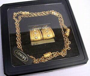 【送料無料】ジュエリー・アクセサリー コリアーエボークリップスモネアンシアンcollier et bo clips monet ancien