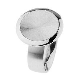【送料無料】ジュエリー・アクセサリー エルンストデザインリングポリッシュステンレススチールレビゲートernstes design anello r701 acciaio inox lucido levigate 20 mm larghezza 4865