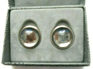 【送料無料】ジュエリー・アクセサリー ラリックカボションライトクリスタルシルバークリップオンスタニングイヤリング