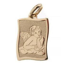 【送料無料】ジュエリー・アクセサリー ラファエロメダルangelo di raffaello medaglia oro 75000 lucido gr160