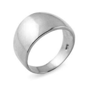 【送料無料】ジュエリー・アクセサリー ソリッドハイグロスホワイトゴールドシガーリングsolido alto lucido bianco 14k oro 114 mm sigaro anello