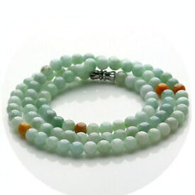 【送料無料】ジュエリー・アクセサリー ヒスイパールネックレス500mm certd 2 colori 100 naturale una collana di perle di giada 5mm di giada