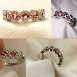【送料無料】ジュエリー・アクセサリー ルビーリングサイズruby coloured ring size 9