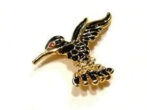 【送料無料】ジュエリー・アクセサリー ビジューブローチオイゾウコリブリエマイレアリアージュドレブローチbijou broche oiseau colibri emaille alliage dore brooch