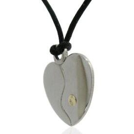 【送料無料】ジュエリー・アクセサリー ゴールドスタッドカスタマイズハートペンダントciondolo cuore personalizzabile mm 20x18 in acciaio lucido con borchia in oro