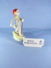 """【送料無料】キッチン用品・食器・調理器具・陶器 ロイヤルウスターフィギュア「木曜日の子供」背の高い遠くに行く Royal Worcester Figure """"Thursday's Child"""" - 16.25cm 6.5"""" Tall Has Far To Go"""