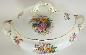 【送料無料】キッチン用品・食器・調理器具・陶器 コールポートフレグランスはスカラップ覆われた野菜ボウルを上げませんCoalport #9054 Fragrance Not Raised Scalloped Covered Vegetable Bowl
