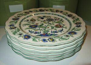 【送料無料】キッチン用品・食器・調理器具・陶器 日光オリエンタルガーデンディナープレート日本ゴージャスミントコンディションNIKKO Oriental Garden 6 Dinner Plates 9875 JAPAN Gorgeous Mint Condition