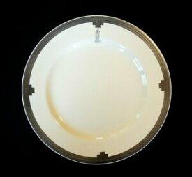 【送料無料】キッチン用品・食器・調理器具・陶器 ビューティフルクラリスクリフプラチナムホテルディナープレートBeautiful Clarice Cliff Platinum Hotel Dinner Plate