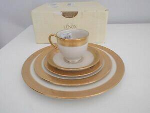 【送料無料】キッチン用品・食器・調理器具・陶器 レノックスゴーハムピースフレンチパールチャームセッティングプレートカップNWB $715 LENOX GORHAM 5 Piece French Perle Charm Place Setting Plate Cup
