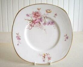 【送料無料】キッチン用品・食器・調理器具・陶器 ヴィンテージ・タスカンフレグランスケーキプレート、プリティフローラルパターンVintage Tuscan Fragrance Cake Plate, Pretty Floral Pattern
