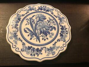 【送料無料】キッチン用品・食器・調理器具・陶器 スポデコープランドブルールーム装飾ガーデンプレートSpode Copeland Blue Room Decorative Garden Plate