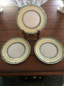 【送料無料】キッチン用品・食器・調理器具・陶器 ヴィレロイ・ボッホ・フレンチ・ガーデン・ヴィエン・ブレッドプレート(3) Villeroy Boch French Garden Vienne Bread Plate 6 1/2 in