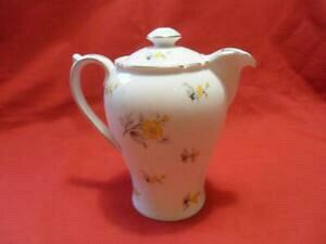 【送料無料】キッチン用品・食器・調理器具・陶器 シェリーチャーム、イエローレア温水ジャグまたはチョコレートポットShelley CHARM, (Yellow) (RARE) Hot Water Jug or Chocolate Pot