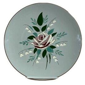 【送料無料】キッチン用品・食器・調理器具・陶器 スタングルディナープレートベラローズヴィンテージ年代フロントリムは、小さなノミの咬傷を持っていますStangl dinner plate bella rose 10 vintage 1960s front rim has small flea