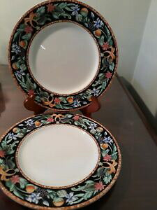 【送料無料】キッチン用品・食器・調理器具・陶器 クリストファースチュアート神秘的なガーデンサラダプレートChristopher Stuart Mystical Garden Salad Plates