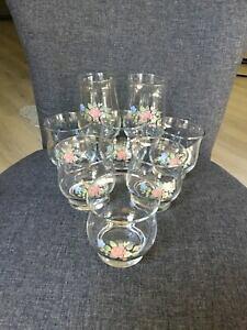 【送料無料】キッチン用品・食器・調理器具・陶器 アメリカ製のプファルツグラフティーローズジュースタンブラーウォーターグラスPfaltzgraff TEA ROSE Made in U.S.A. Rocks / Juice Tumblers (6) - Water Gl