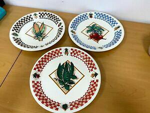 【送料無料】キッチン用品・食器・調理器具・陶器 ヴィンテージ卓上無制限の新鮮なガーデンプレート無料同日船3 Vintage Tabletops Unlimited Fresh Garden Plates - 10.5 - FREE Same Day Ship'n