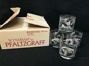 【送料無料】キッチン用品・食器・調理器具・陶器 プファルツグラフ「」セットロックスジュースグラスオンス背の高いPfaltzgraff WYNDHAM ~ Set of 4 ~ Rocks / Juice Glasses ~ 10 oz ~ 3 1/2 Tall