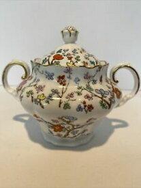 【送料無料】キッチン用品・食器・調理器具・陶器 スポデ上海蓋付きシュガーボウルに欠陥がありますSpode Shanghai # R5321 Covered Sugar Bowl with Lid has flaws