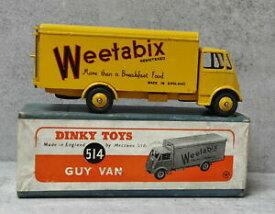 【送料無料】模型車 モデルカー ディンキートイズガイウィータビックスヴァンボックスオールオリジナルdinky toys 514 guy weetabix van boxed all original