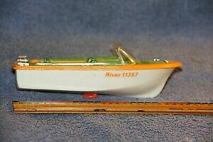 【送料無料】模型車 モデルカー ヴィンテージプラスチックボートvintage 6 plastic river boathong kong