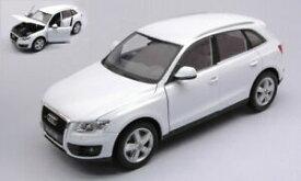 【送料無料】模型車 モデルカー アウディホワイトモデルウェリーaudi q 5 2008 white 124 model 22518w welly