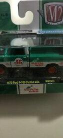 【送料無料】模型車 モデルカー マシンフォードカスタムタートルワックスm2 machines 1970 ford f100 custom 4x4 turtle wax *1
