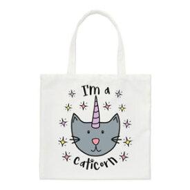 【送料無料】ルナスモールトートバッグユニコーンluna im a caticorn small tote bag cat unicorn funny animal shoulder