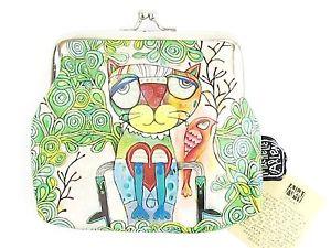 【送料無料】猫 ネコ キャット バッグ 小物 コインアランデザインズチェロラップ12x105cmcat coin purse allen designsquirkydesign cello wrap 12x105cm