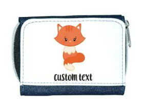 【送料無料】猫 ネコ キャット バッグ 小物 カスタムテキストレディースcat 1 personalised custom with any text cute statement ladies purse blue