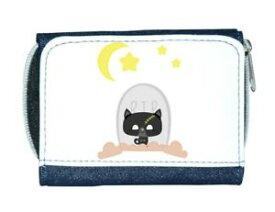 【送料無料】猫 ネコ キャット バッグ 小物 ゾンビカスタムパーソナライズレディースzombie cat grave custom personalised character halloween ladies purse blue