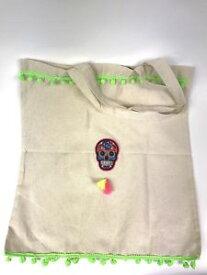 【送料無料】ハンドメイドキャンバスカルトトートバッグスタッドhandmade alternative canvas tote bags made by cthulhu cat cult it, studs, skull