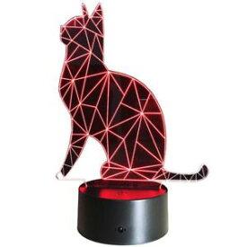 【送料無料】ネコ 猫 ネックレス デスクベッドサイドランプライトランプinnowill thinking cat usb battery powered desk bedside lamp led night light lamp