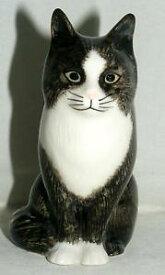 【送料無料】猫 ネコ キャット 置物 ウズラ#オリバー#;#quail ceramics animal figure moggie cat 034;oliver034; 4034; 897