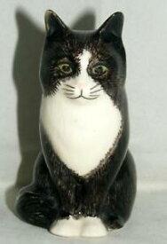 【送料無料】猫 ネコ キャット 置物 ウズラ#オリバー#;#quail ceramics animal figure moggie cat 034;oliver034; 3034; 897