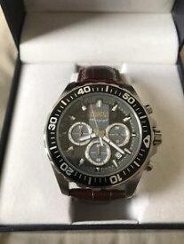 【送料無料】腕時計 ウォッチブルックスブラザーズブラウンクロノグラフクォーツドルbrooks brothers brown chronograph quartz watch msrp 228