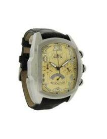 【送料無料】腕時計 ウォッチメンズトノークロノグラフアナログゴールドトーンウォッチinvicta lupah 23208 mens tonneau gold tone chronograph analog watch