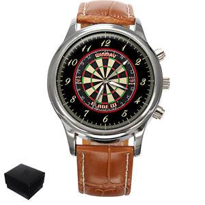 【送料無料】腕時計 ウォッチダーツダートメンズボックスdarts dartboard gents mens wrist watch gift box engraving