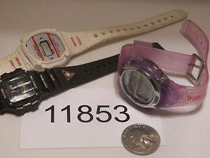 【送料無料】腕時計 ウォッチヴィンテージデジタルデザインロットvintage watch lot of 3 watches digital designs 11853